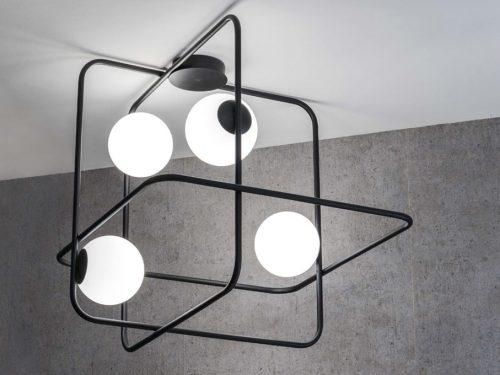 Marchetti-illuminazione-intrigo-suspension-black